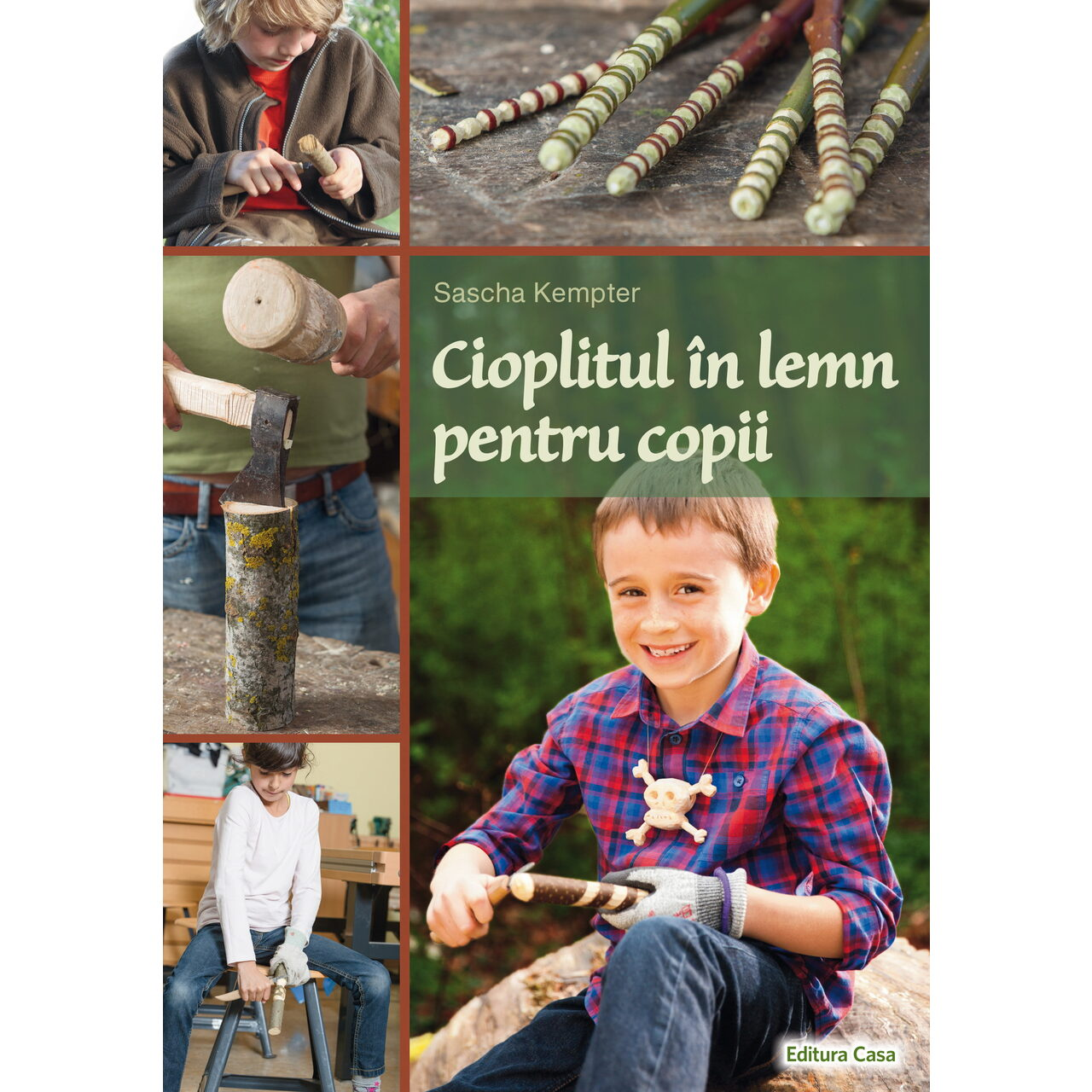 Cioplitul în lemn pentru copii imagine edituracasa.ro
