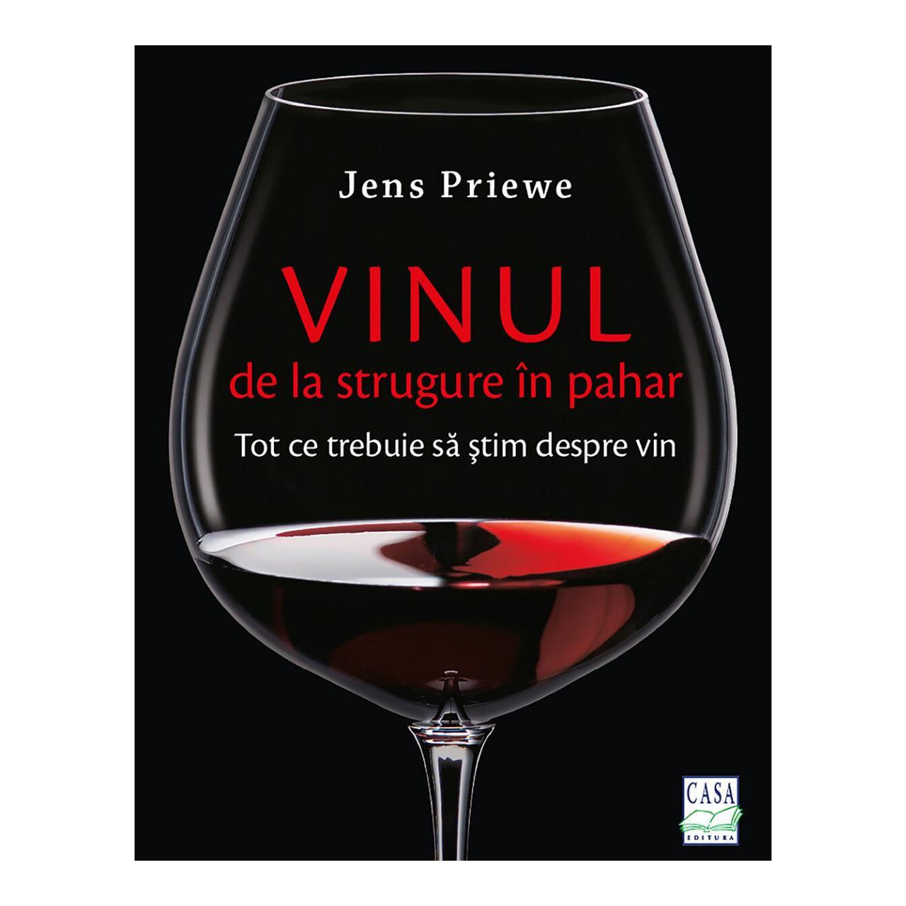 Vinul - de la strugure în pahar imagine edituracasa.ro