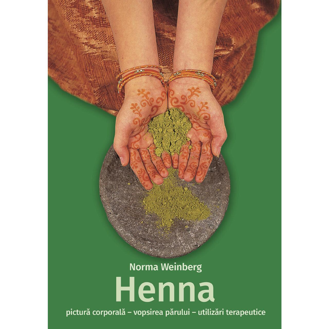 Henna - pictură corporală, vopsirea părului, utilizări terapeutice imagine edituracasa.ro