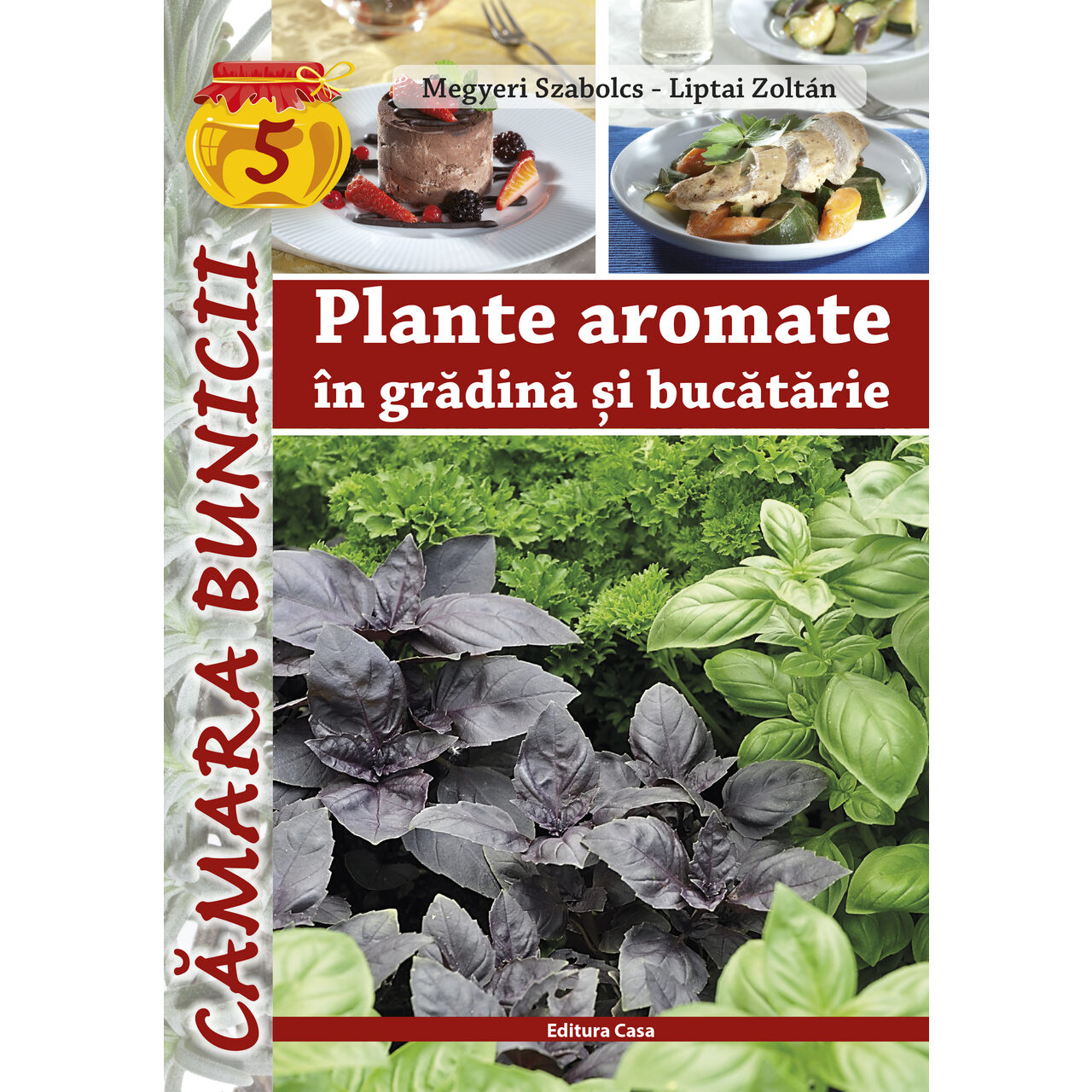 Plante aromate în grădină şi bucătărie imagine edituracasa.ro