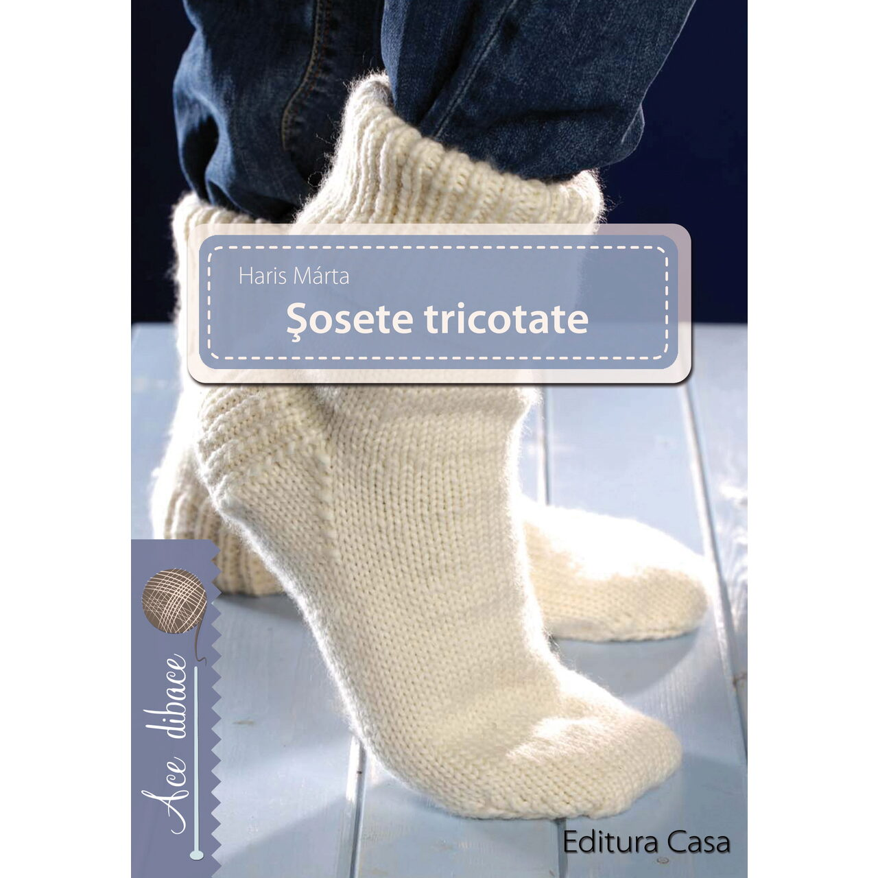 Șosete tricotate imagine edituracasa.ro