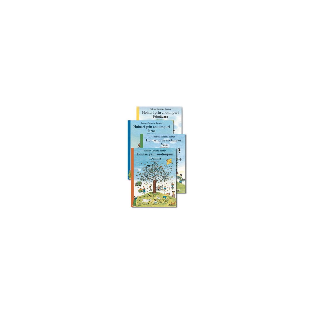 Pachet Hoinari prin anotimpuri - 4 volume imagine edituracasa.ro