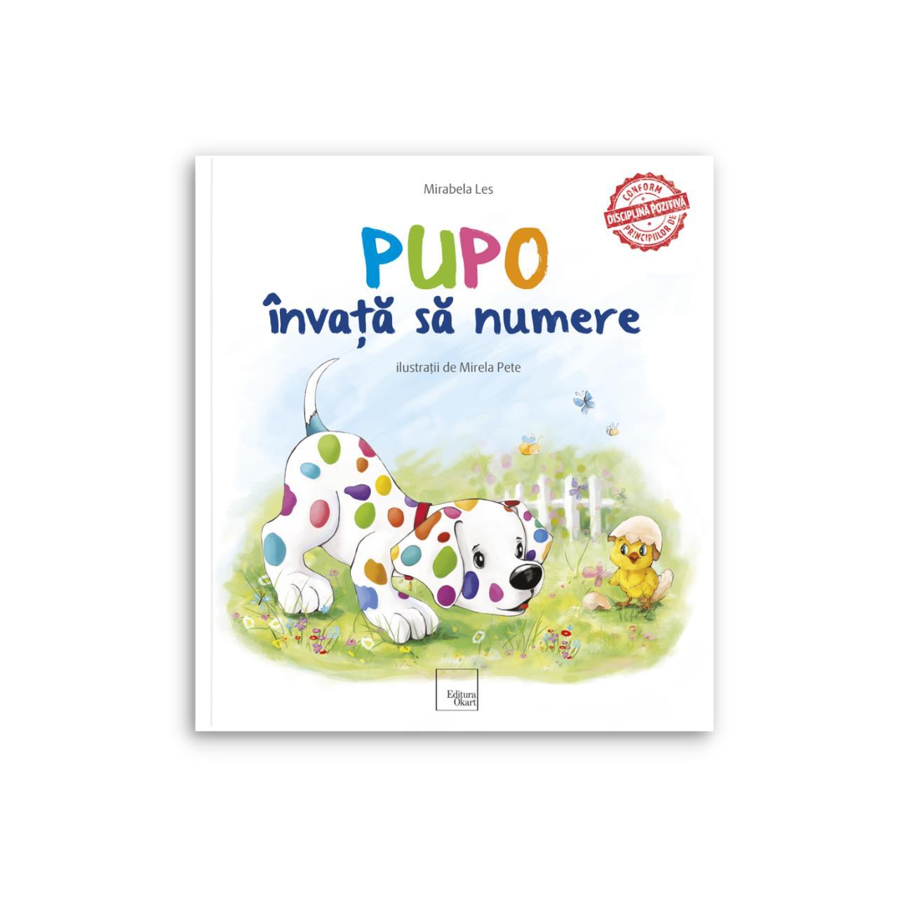 Pupo învaţă să numere imagine edituracasa.ro