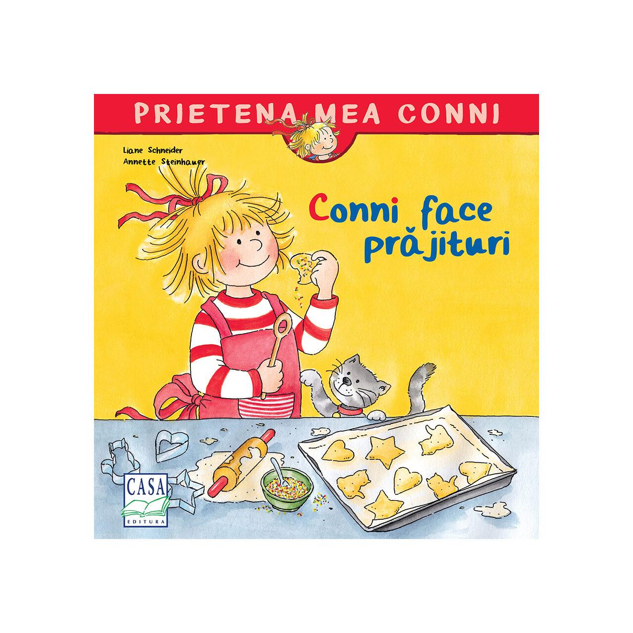 Conni face prăjituri imagine edituracasa.ro