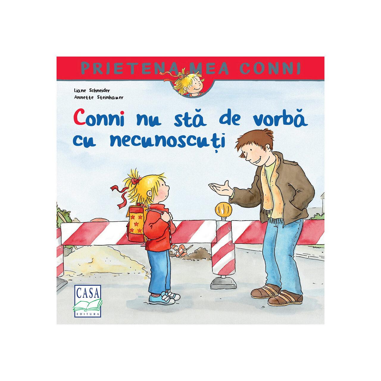 Conni nu stă de vorbă cu necunoscuți imagine edituracasa.ro