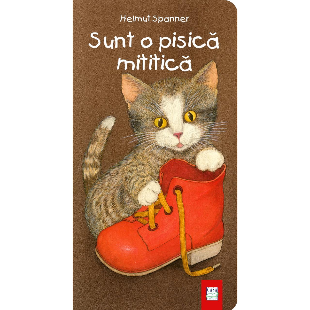 Sunt o pisică mititică imagine edituracasa.ro