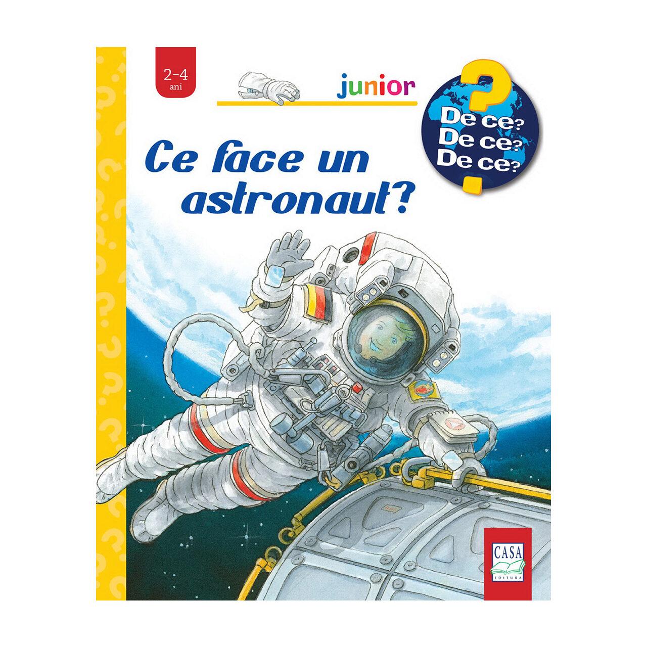Ce face un astronaut? imagine edituracasa.ro