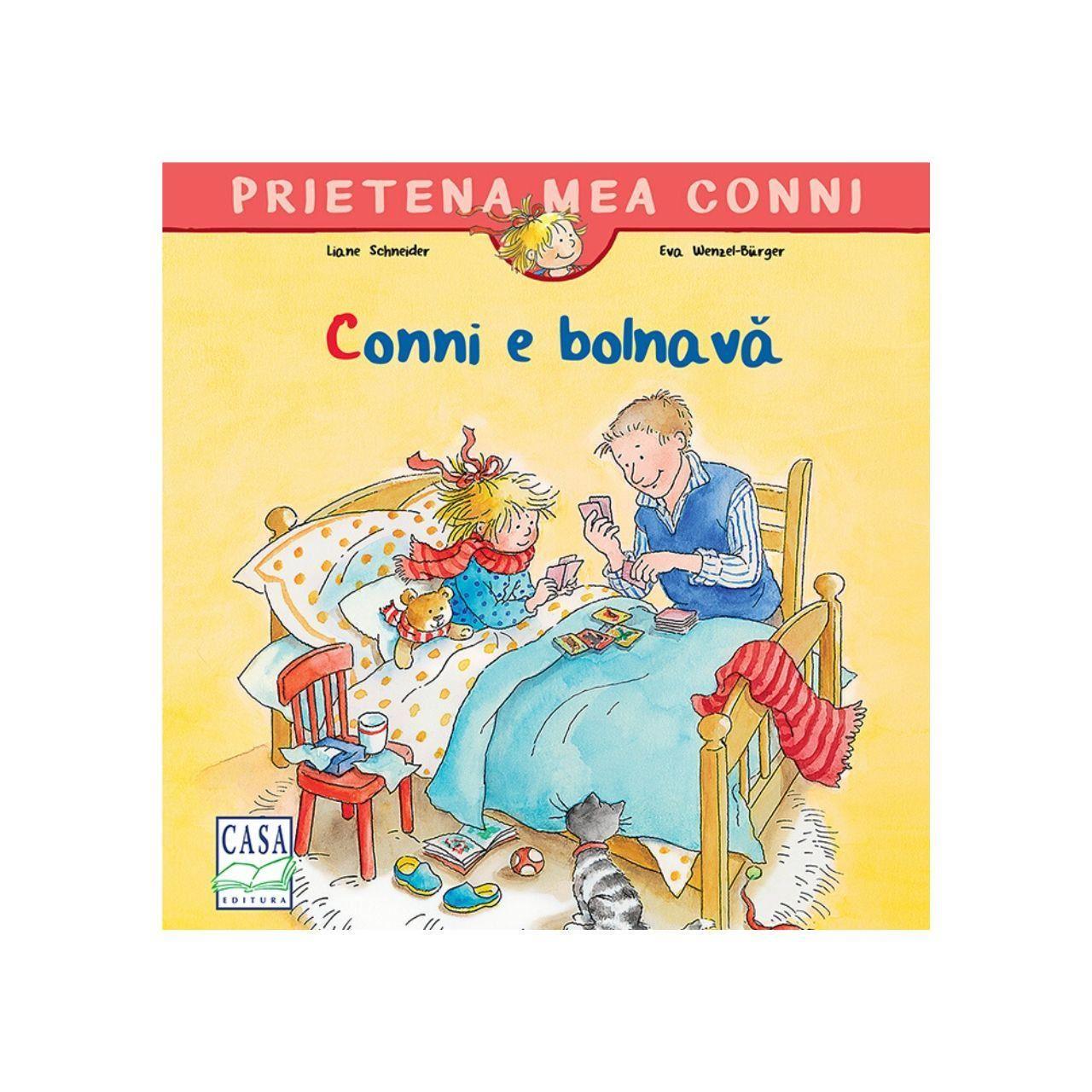 Conni e bolnavă imagine edituracasa.ro