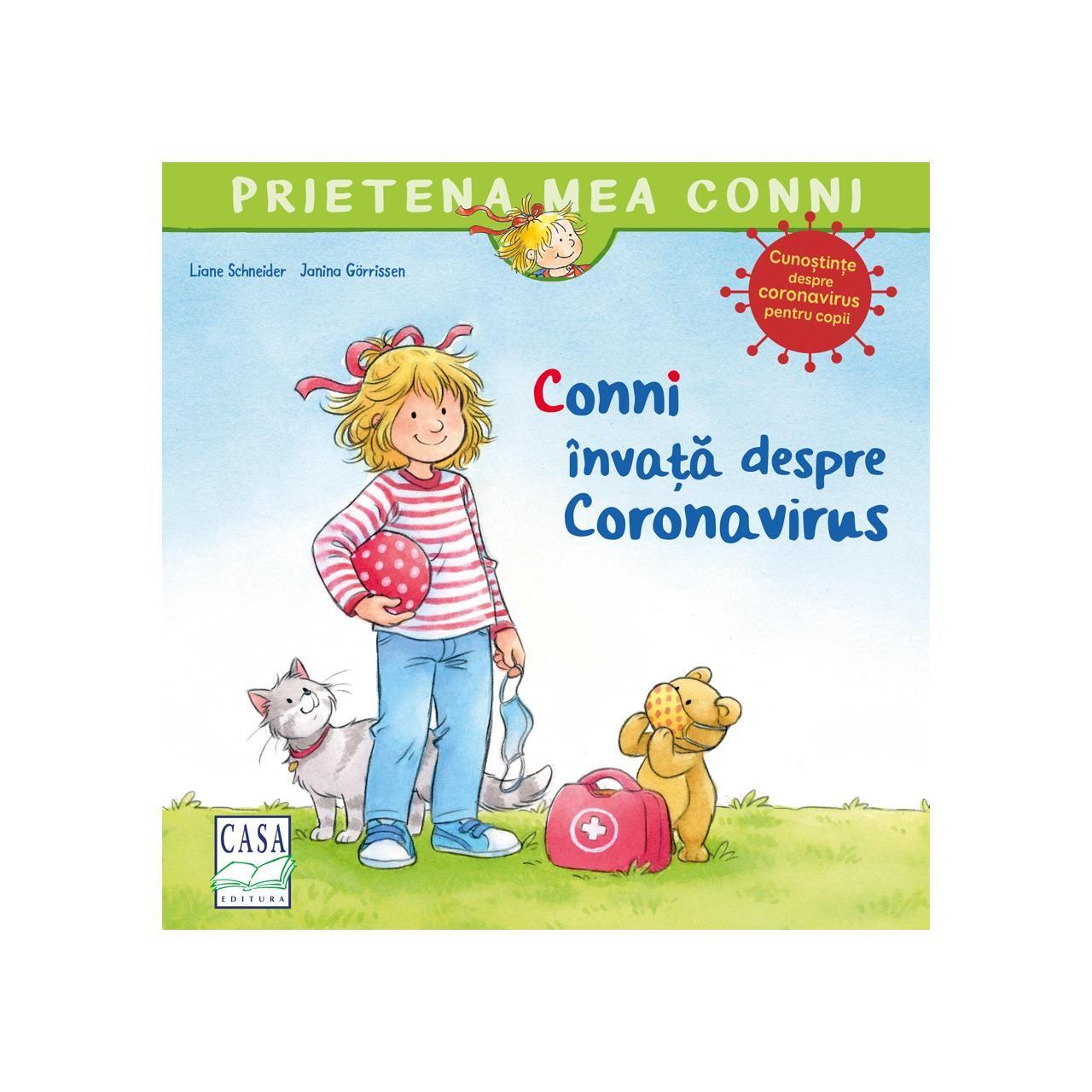 Conni învață despre Coronavirus imagine edituracasa.ro